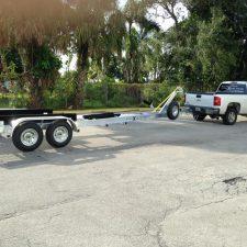 26' Doral Boat Trailer Miami - XCALIBUR Ttrailers