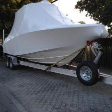 Boston Whaler Boat Trailer for Puerto Rico - XCALIBUR Trailers