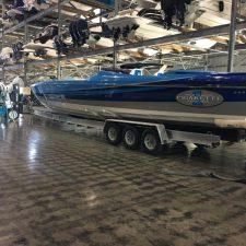 Cigarette Boat Trailers Miami - XCALIBUR Trailers