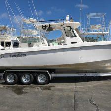 Miami Boat Trailers - XCALIBUR Trailers Everglades Boats