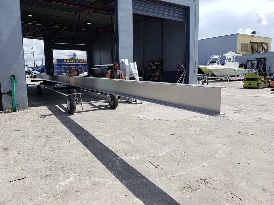 12 I beam boat trailers